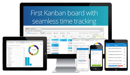 Kanban-Tool On-Site Mobile Apps