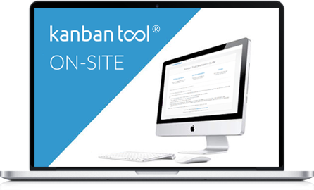 Kanban Tool On-Site for visual project management